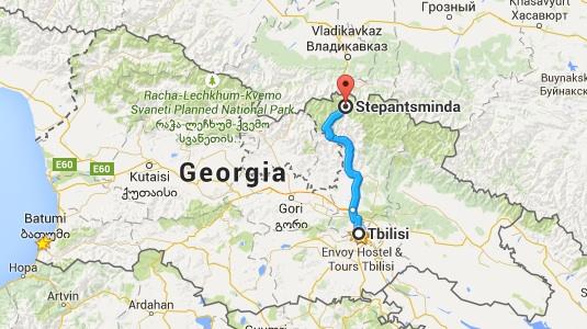 Kazbegi I Mountains Rivers And Rivers Of Chacha Escaping Sloth - Georgia kazbegi map